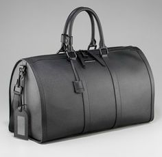 Burberry - Leather Duffle Bag