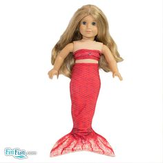 Rio Red Doll Tail and Top - American Girl $12.95