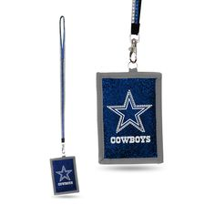 NFL Dallas Cowboys Lanyard Wallet