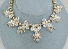 Vintage DELIZZA and ELSTER Juliana Clear by AmazingAdornments, $200.00