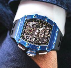 Richard Mille magic Credit to Amazing Watches, Best Watches For Men, Luxury Watches For Men, Beautiful Watches, Cool Watches, Rolex Watches, Richard Mille, Rolex Datejust, Cool Mens Bracelets