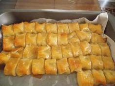Υπέροχο σιροπιαστό γλυκό με φύλλο κρούστας για… τεμπέληδες