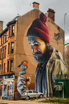 Discover Glasgow's Street Artists and their Best Murals - Smug, St. Mungo | The Travel Tester - Self-Development through travel