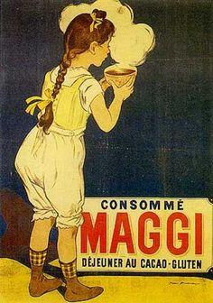 Alimentación infantil. Maggi 1905. Francés @@@@......http://www.pinterest.com/marajosmuoz/publicidad-antigua/