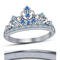 Cinderella Engagement Rings, Vintage Gold Engagement Rings, Rose Gold Engagement Ring, Diamond Wedding Bands, Wedding Engagement, Princess Cut Rings, Princess Jewelry, Disney Princess Rings, Princess Tiara Ring