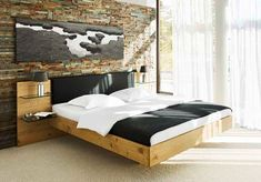 Die 11 besten Bilder von Zirbenbett mit Polster | Betten ...