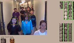 Surveillance from low resolution cctv - creepy