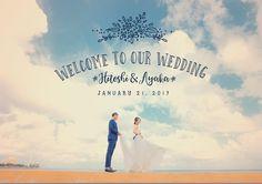 スタンプや文字でデコレーションした画像加工フォトまとめ | marry[マリー] Wedding Welcome Board, Welcome Boards, Invitation Cards, Wedding Invitations, Wedding Photos, Wedding Decorations, Reception, Wedding Photography, Bridal