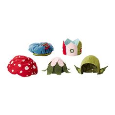 R u kidding me ikea?  You make these when my kids are too big for them?! Love the children of the forest mushroom hat ESP!