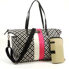 Kate Spade Classic Spade Adaira Baby Bag in Black & Cream kate spade new york