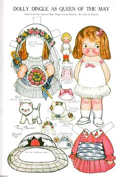 Paper Dolls~Adventures of Dolly Dingle - Bonnie Jones - Picasa Web Albums
