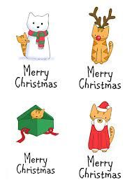 merry cat christamas