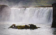 Cascada Godafoss. La cascada de los Dioses