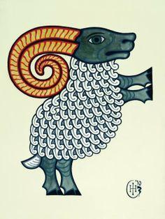 Aries Poster By Ian Herriott
