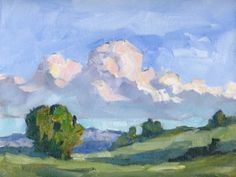 plein air painting | PLEIN AIR PAINTING AND POCHADE INFO BY TOM BROWN, original painting by ...