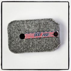 iPhone 4 Case iPhone 4S Case wool felt Gray by Bookase on Etsy, $20.00