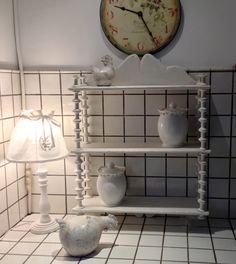 Etagère 800 shabby avorio Fat Bird, Painted Furniture, Shabby Chic, Shelves, Industrial, Birds, Decor Ideas, Decorating, Country