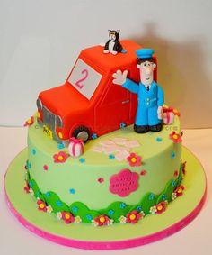 Postman Pat and Jess Cake