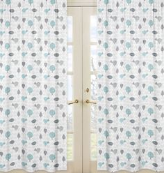 Create a stylish look with these Sweet Jojo Designs Rod Pocket Style Window Panels. Each set includes 2 Long Window Panels. for Earth and Sky Bedding Sets by. Here are the bedding sets. Rod Pocket Curtains, Grommet Curtains, Drapes Curtains, Kids Window Treatments, Window Panels, Curtain Panels, Massage Table, Printed Curtains, Baby Room Decor