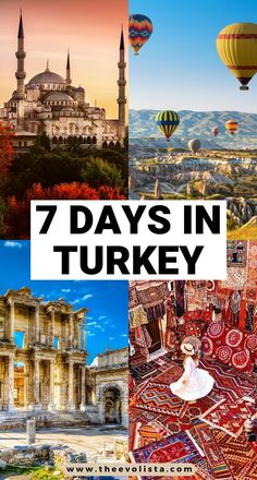 Ultimate 7 day Turkey Itinerary | Best places to go in Turkey | Turkey Travel Guide | Top things to see 7 days in Turkey | Best Photo Spots in Istanbul | Bucket List adventures in Cappadocia | Tips and tricks for your Turkey trip | Turkey travel tips | What to wear in Turkey | How to plan your Turkey vacation | Best hotels in Turkey | Adventurers guide to Turkey | Best cities to visit in Turkey | Top places to see in Istanbul | Things to do in Cappadocia | Bodrum | Epheusus #turkey… Backpacking Europe, Europe Travel Guide, Asia Travel, Travel Guides, Visit Istanbul, Istanbul Travel, Best Hotels In Istanbul, Turkey Vacation, Turkey Travel