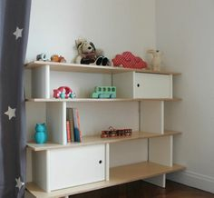 Kidstore 'Little You' les meubles Oeuf NYC, Brooklyn, NY · www.oeufnyc.com · A modern range of eco-friendly children's furniture. Shelving, Children, Kids, Bookcase, Modern, Brooklyn, Eco Friendly, Room, Range