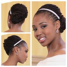 Natural Hair on Your Wedding Day! Tamara Floyd of Natural Hair Rules was the first to be featured in the Essence Online Photo Gallery Natural Wedding Hairstyles, Bride Hairstyles, Vintage Hairstyles, Short Hairstyles, Natural Hair Inspiration, Natural Hair Tips, Natural Hair Styles, Au Natural, Natural Beauty