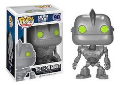 Limited Funko Pop! Movies: The Iron Giant # 90 Vinyl Figure Brand New Mint RARE