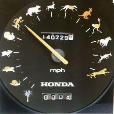 That's my Honda Fit, alright. The kids complain, but I don't need 120 MPH ever. LOL