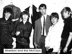 Sheldon Kagan & the McCoys !  Brings us way back     www.sheldonkagan.com