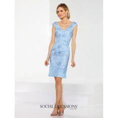 Social Occasions by Mon Cheri Mother of the Bride Dress 116849