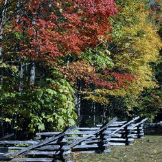 The fall is one of the most beautiful times to visit the Smoky Mountains.
