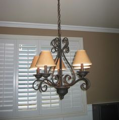 Very similar to the chandelier in my living room