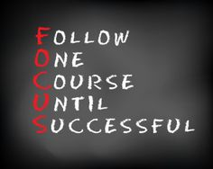 Are You Focused?
