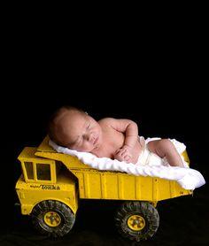 cute idea for baby boy newborn photo or announcement