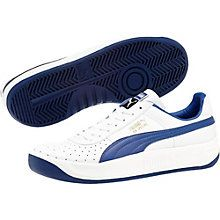 In the late 1970s, tennis player and Argentine playboy Guillermo Vilas went on a title-winning rampage. Known for his one-handed backhand and smashing good looks, he paired with PUMA to create a line of tennis shoes that matched his winning style. Among them? The GV Special. And much like the man behind the legend, it quickly secured its rank: Icon.  Features:   Leather upper with perf details at forefoot  Lace closure for a snug fit   Cushioned midsole for comfort  Rubber outsole for grip…