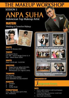 . THE MAKEUP WORKSHOP  ANPA SUHA -Session 5 Indonesian Top Makeup Artist