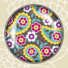 Paisley Bloom Big Click by dianekappa on Etsy, $6.50