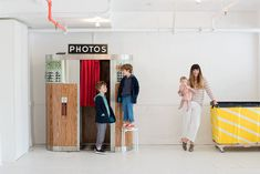 Oh Happy Day's Jordan Ferney shows off her studio space and three kiddos, check out our interview and photos in partnership with Old Navy. Photo by Sarah Hebenstreit.