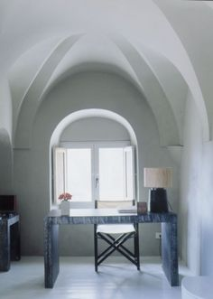 Giorgio Armani's Home in Pantalleria.  Clean and Elegant just like his clothes.