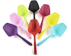 Model Number:XWY339Certification:CE / EU,CIQ,FDA,LFGBFeature:Eco-Friendly,StockedType:Colanders & StrainersMetal Type:PP Red Blue Green, Pink Yellow, Purple, Kitchen Tools And Gadgets, Cooking Tools, Kitchen Utensils, Cool Gadgets, Kitchen Accessories, Veggies