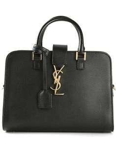 Shop Saint Laurent medium 'Monogramme' tote in Liska from the world's best independent boutiques at farfetch.com. Over 1000 designers from 300 boutiques in one website.