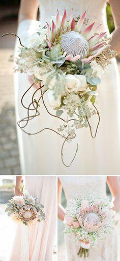 Flores de boda: la #protea