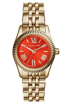 #MichaelKors bracelet watch http://rstyle.me/n/h6b8hr9te