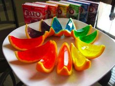 Cool Jello shots from Johnny's Cafe in Margate, NJ