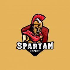 Warrior Logo, Spartan Warrior, 2 Logo, Game Logo, Hand Illustration, Spartanischer Helm, Sparta Helmet, Adobe Illustrator, 7 Knight