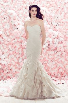 The Best Gowns from The Most In-Demand Wedding Dress Designers Part 10. http://www.modwedding.com/2014/03/06/the-best-wedding-dress-designers-part-10/ #wedding #weddings #fashion
