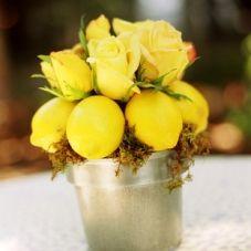 lemons instead of flowers