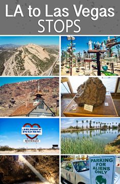 If you are looking for a fun road trip from Los Angeles to Las Vegas then check out this list of stops that should give you a full day of adventure. #california #travel #photography #hiking #bucketlist #food #roadtrip #travelblog #adventure