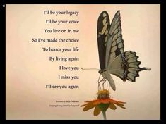 Miss Mom, Miss You Dad, Collateral Beauty, The Knowing, Grief Loss, After Life, Love You Forever, In Loving Memory, Love Of My Life