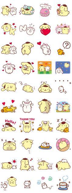 画像 - Pompompurin and Friends by Sanrio - Line.me